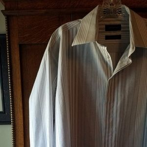 Claiborne French Cuff Shirt L 16 1/2